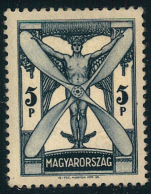 1933, 5 P. Flugpost-Höchstwert postfrisch. 5 P airmail highest value mnh 0