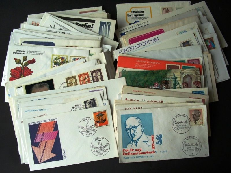 1961/1987, BERLIN: nice collection of 138 FDC