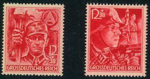 1945, SA/SS postfrisch komplett.