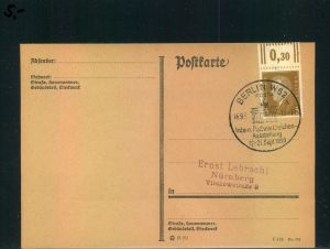 Auflösung: Stempelsammlung Deutsches Reich - BERLIN W 62, Intern. Postwertzeichen-Ausstellung 1930