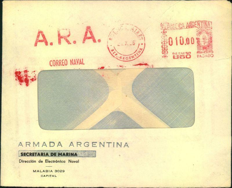 Correo Naval, Armada Argentina