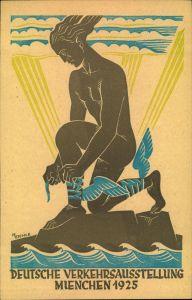 1925, 5 Pfg. Privatganzsache