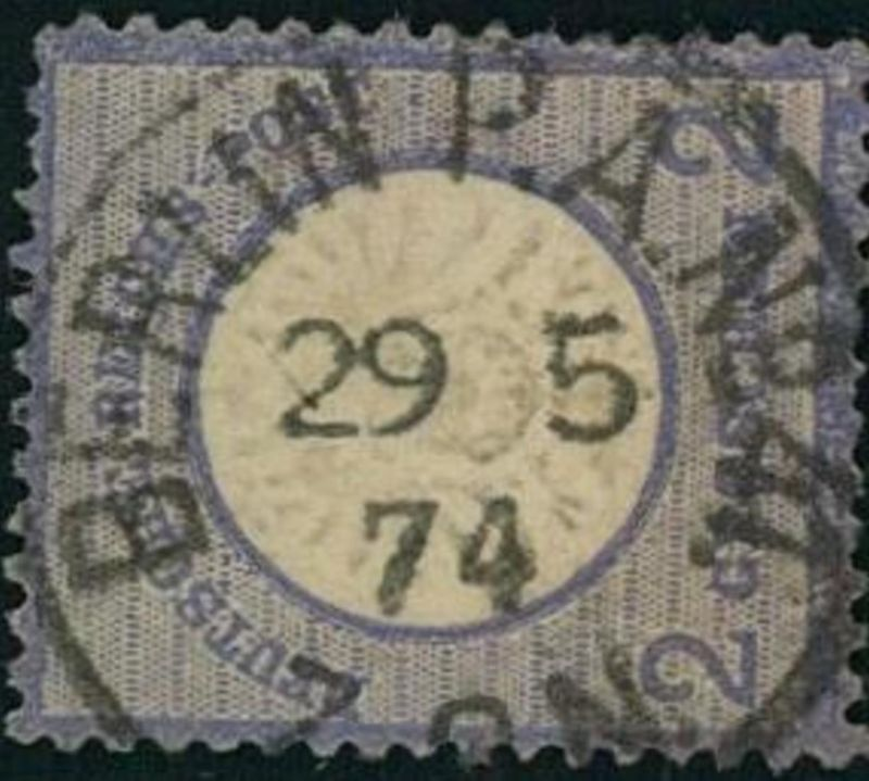 2 Groschen großer BRUSTSCHILD BERLIN O.E. No. 42