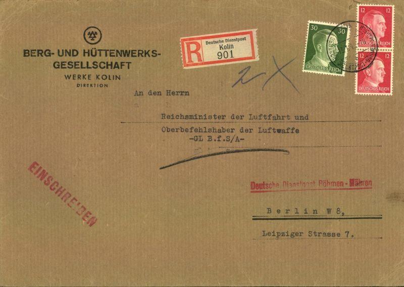 1942, Brief an