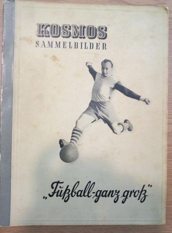 1950/1951, Kosmos-Sammelbilderalbum über die Saison 1950/1951 mit Meisterschaft und Länderspielen, Selten!