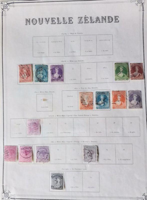 1964/1915: NEW ZEALAND-NOUVELLE ZÉLANDE - ancient collection