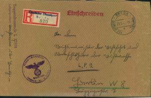 1942, ddp NIEDERLANDE, BREDA,- Truppendienststelle L 37853