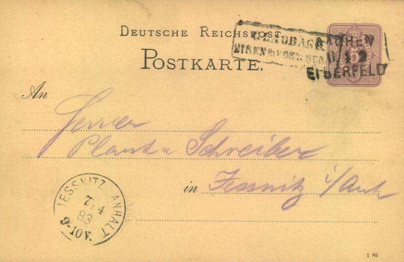1883, Bahnpost L3