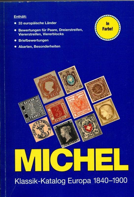 MICHEL Klassik-Katalog Europa, 1. Auflage 2007-sauber gebraucht, Neupreis 98,- Euro