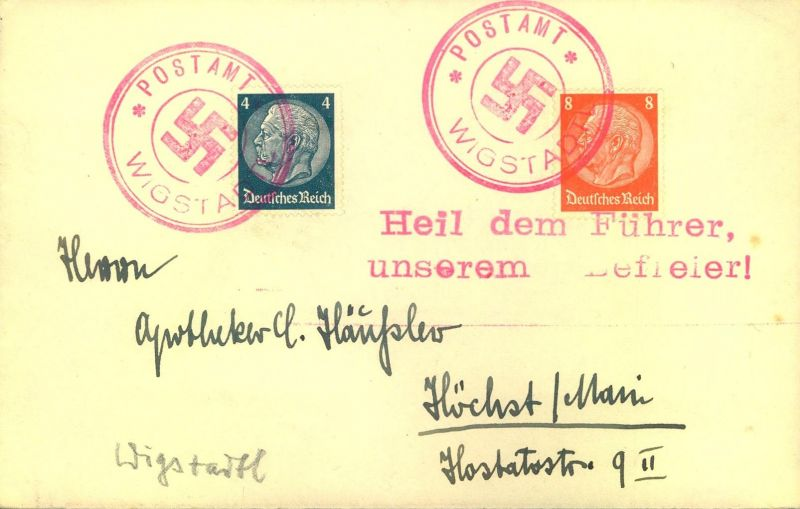 1938, SUDENTENLAND, 13 Belege mit Befreiungsstempeln
