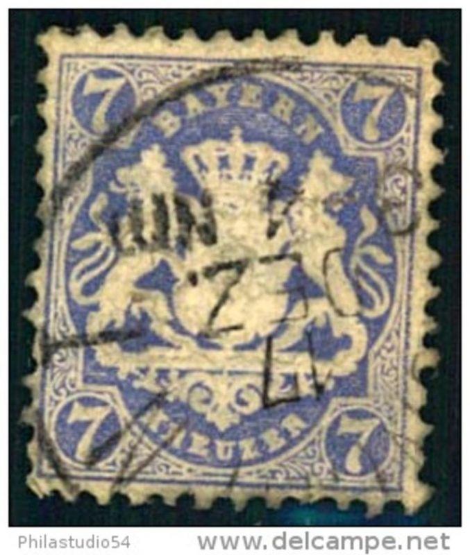 7 Kreuzer Wappen, Wasserzeichen Wellenlinien (Mi-Nr. 34 - 340,-)