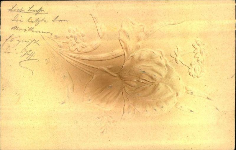 Prägekarte 1906, gelaufen