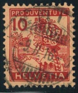 1915, 10 Rp. Pro Juventute (Mi -Nr. 179)