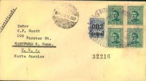 1948, URUGUAY, registered letter - see scan