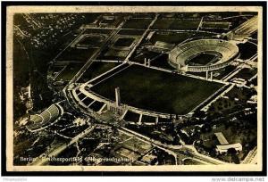Olympiastadion, Reichssportfeld BERLIN, Sonderstempel