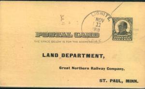 1910, stat. card