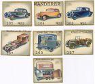 Sammelbilder ,Wanderer ,Das Auto von Heute, 7 Stk. ,