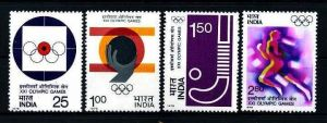 E17445)Olympia 76, Indien 680/3** 0