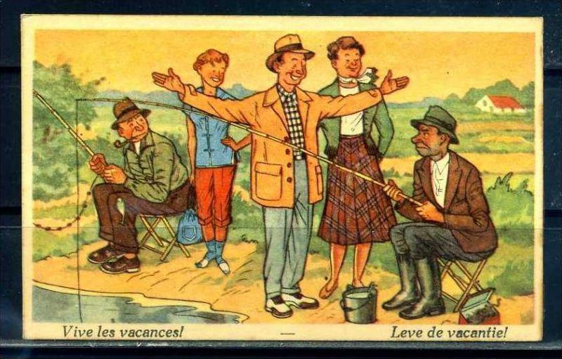K10870)Ansichtskarte: Humorkarte Urlaub