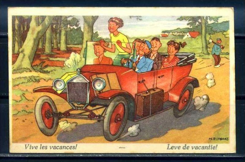 K10867)Ansichtskarte: Humorkarte Urlaub