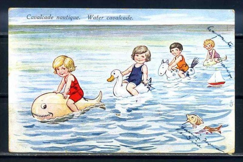 K10863)Ansichtskarte: Humorkarte Kinder