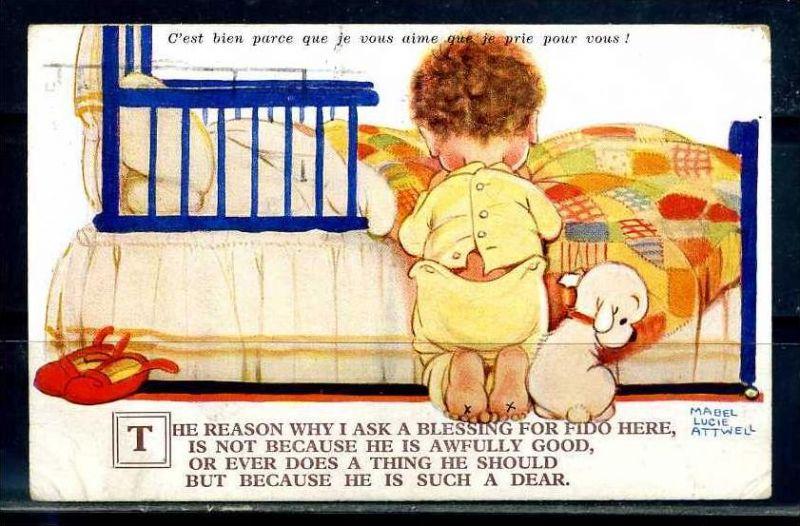 K10862)Ansichtskarte: Humorkarte Kinder