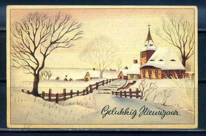 K10843)Grusskarte: Neujahr