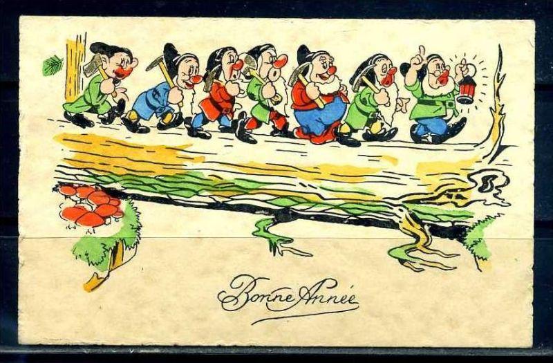 K10840)Grusskarte: Neujahr