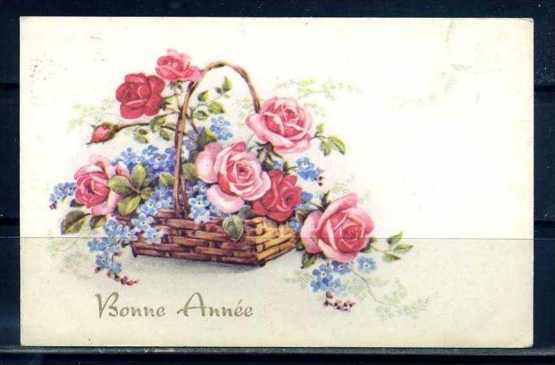 K10836)Grusskarte: Neujahr