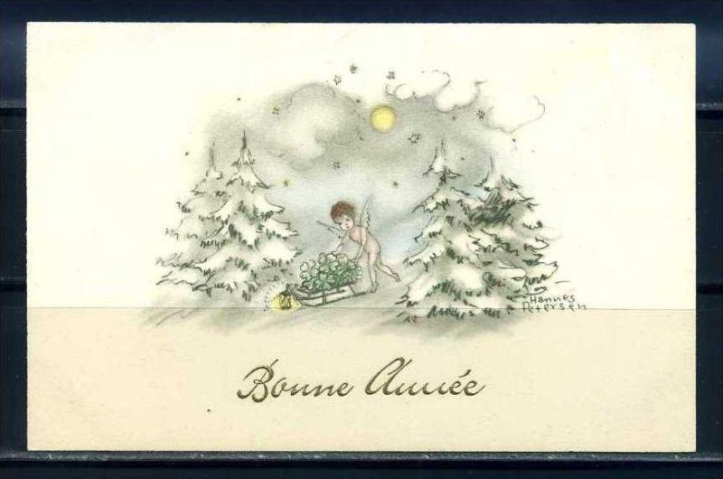 K10833)Grusskarte: Neujahr