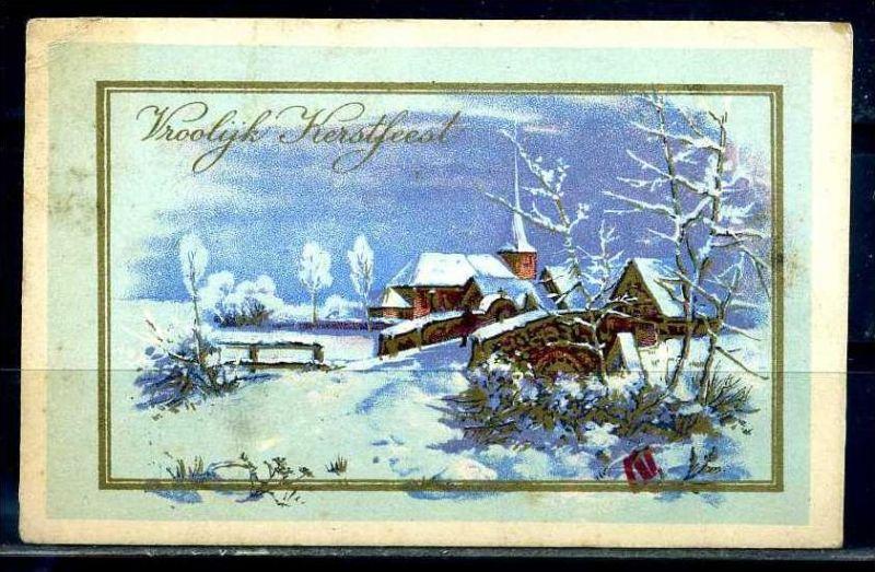 K10822)Grusskarte: Neujahr