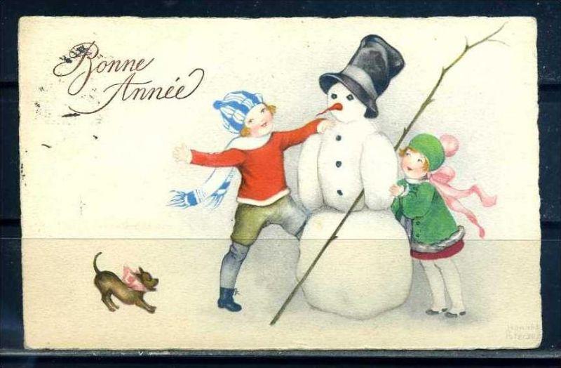 K10818)Grusskarte: Neujahr