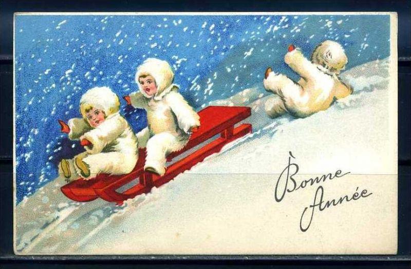 K10817)Grusskarte: Neujahr