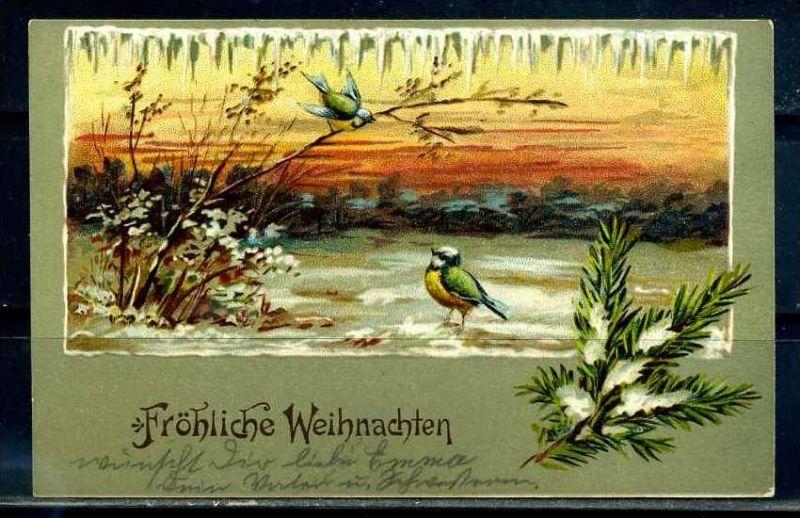 K10811)Grusskarte: Weihnachten