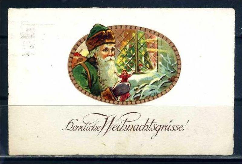 K10809)Grusskarte: Weihnachten