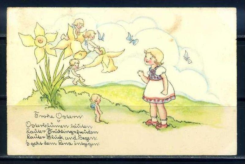 K10806)Grusskarte: Ostern