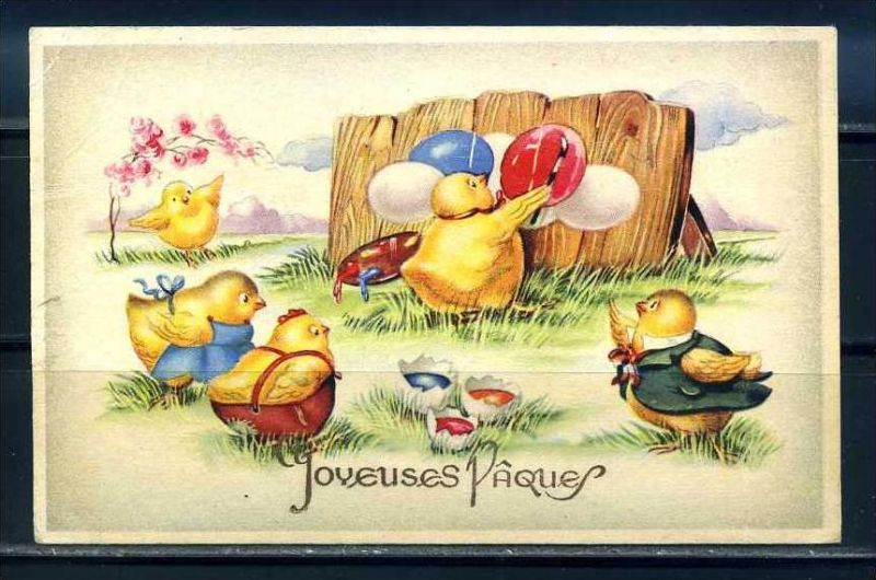 K10804)Grusskarte: Ostern
