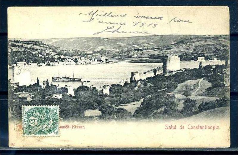 K10798)Ansichtskarte: Gruss aus Constantinopel