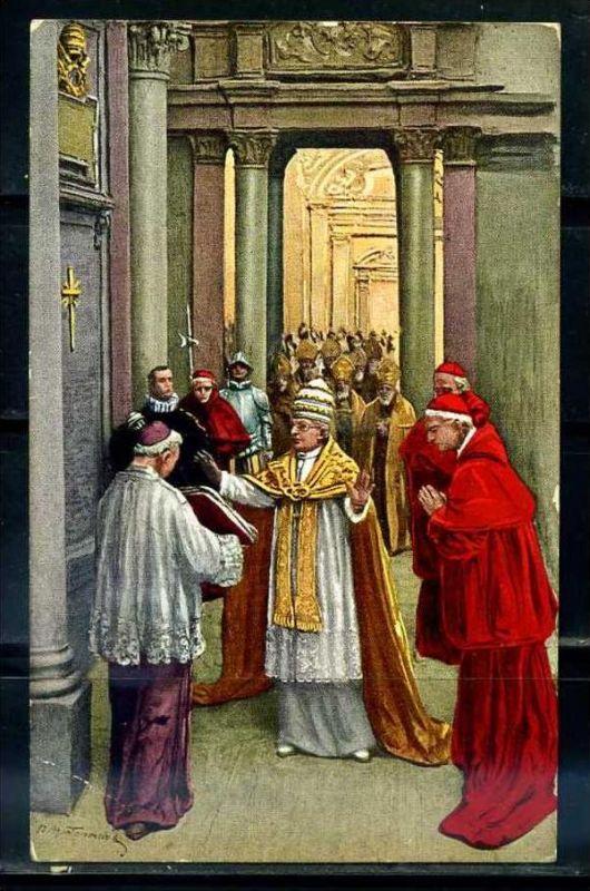 K10796)Ansichtskarte: Papst Pius XI.