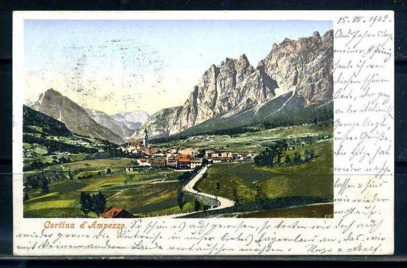 K10794)Ansichtskarte: Cortina D` Ampezzo