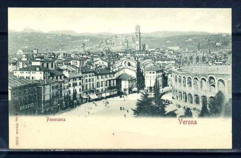 K10792)Ansichtskarte: Verona, Panorama