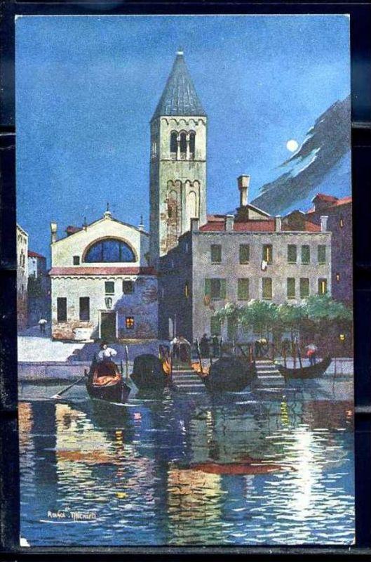 K10790)Ansichtskarte: Venedig, Traghetto S. Samuele