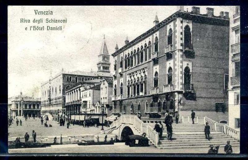 K10789)Ansichtskarte: Venedig, Riva degli Schiavoni