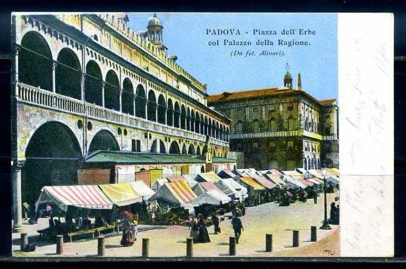K10784)Ansichtskarte: Padua, Piazza dell Erbe
