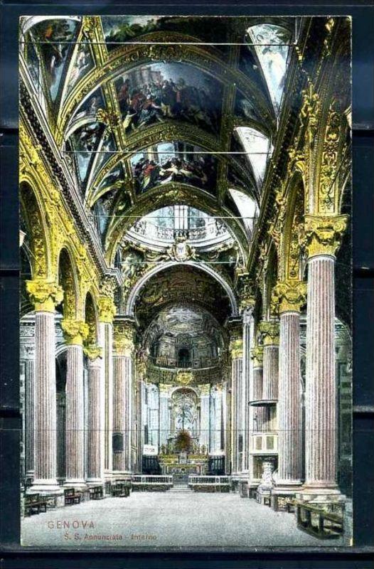 K10711)Ansichtskarte: Genua, S.S. Annunziata