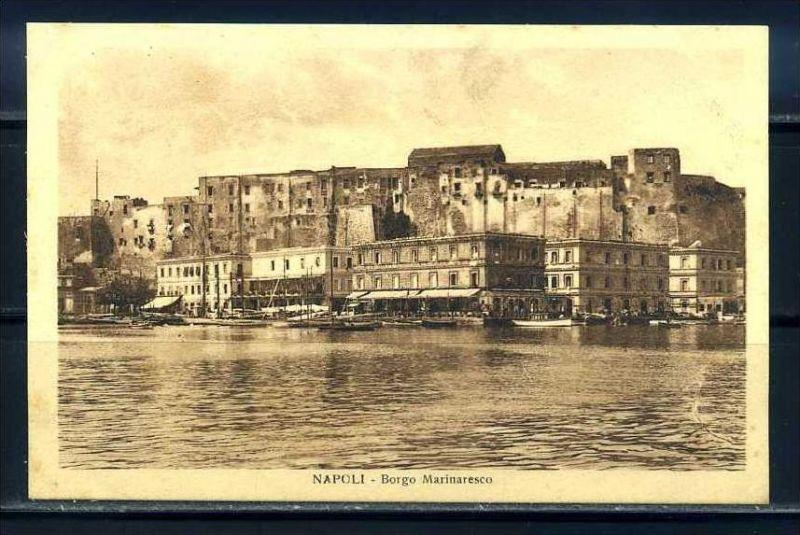 K10675)Ansichtskarte: Neapel, Borgo Marinaresco