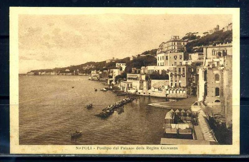 K10672)Ansichtskarte: Neapel, Palazzo Della Regina Giovanna