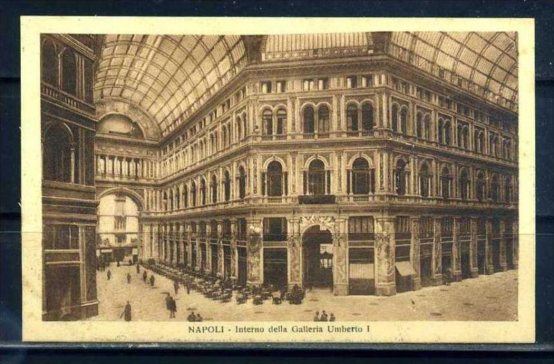 K10670)Ansichtskarte: Neapel, Galleria Umberto