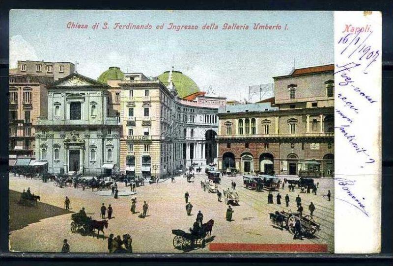 K10669)Ansichtskarte: Neapel, Galleria Umberto