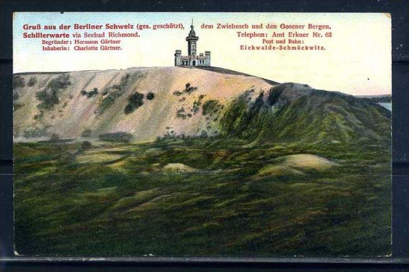 K10468)Ansichtskarte: Gruss aus der Berliner Schweiz
